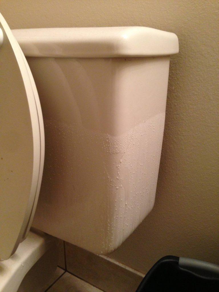 sweaty tank toilet repair irvine